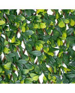 Woodland Artificial Hedge - Privacy Trellis Screening 2m x 1m (Summer)